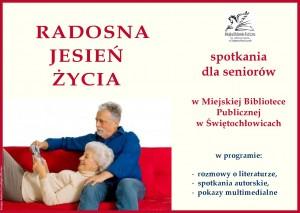 Radosna Jesień Życia-plakat-folder