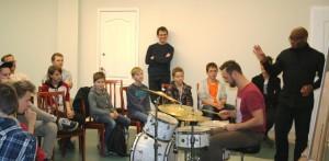 Warsztaty perkusyjne Frank Parker