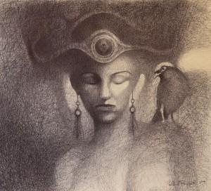 Lech Pierchała lady of autumn 1