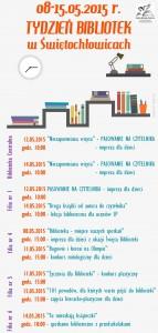 tydzien bibliotek-harmonogram