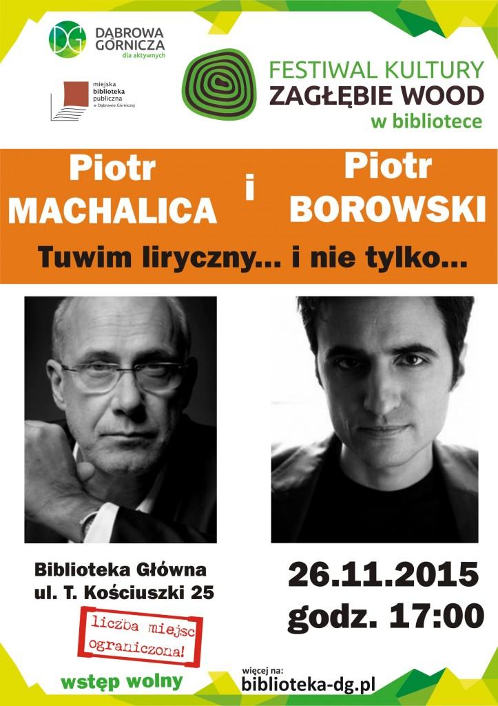 Machalica i Borowski - plakat ze zdjęciami
