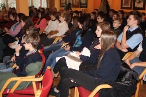 Publika na spotkaniu