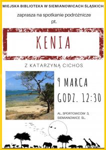 Plakat Kenia