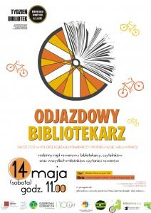 Plakat Odjazdowy Bibliotekarz
