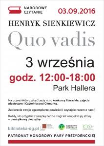 plakat Dąbrowa