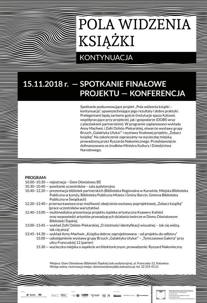 Dom Oświatowy - program konferencji